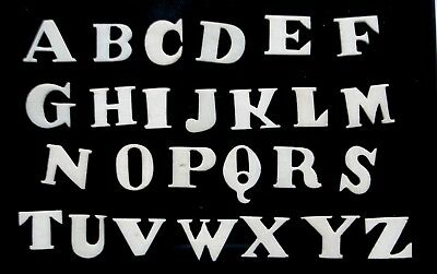Antique Bone Alphabet Letters