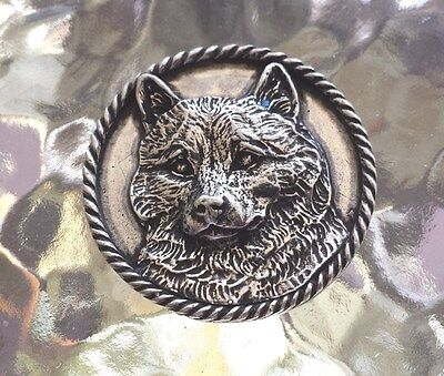 Family House Pet Purebred 1 Shiba Inu Dog Pewter Pin. All New.