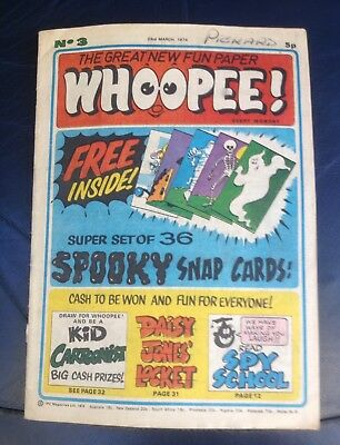 Whoopee Comic No3 March 1974 Good Condition