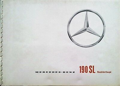 Mercedes Benz Tipo 190 Sl Roadster Coupe'