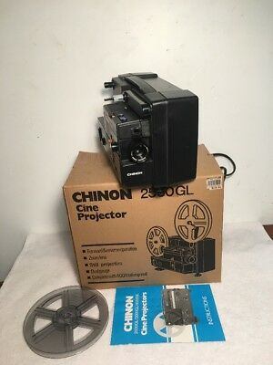 CHINON 2500GL DUAL 8mm Projector