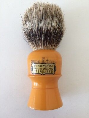 Vintage Simpson B1 Pure Badger shaving brush