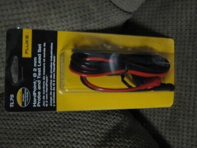 Fluke TL75 Hard Point Test Lead Set, 2mm * New In Box*