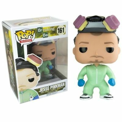 Funko Pop Breaking Bad Jesse Pinkman Green Hazmat Suit Vinyl Figure NEW VAULTED