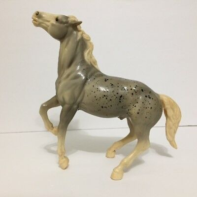 Lot of 11 Mixed Horses Breyer Molding Co Lakeside Ind ISI Saddles & More 1960's?