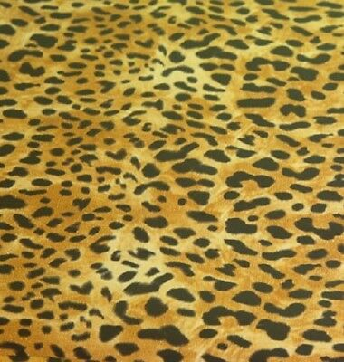 MIDAS TOUCH Shiny Transfer Foil Sheets GOLD LEOPARD 20 Sheets 6 x 12""