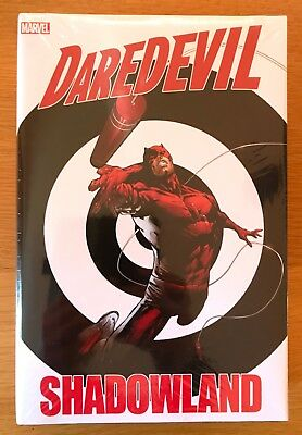 New Sealed Daredevil Shadowland Marvel Omnibus Dm Variant Cover Tan Andy Diggle