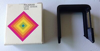 POLAROID LENS SHADE #120 for a SX-70 Land Camera w/ box.