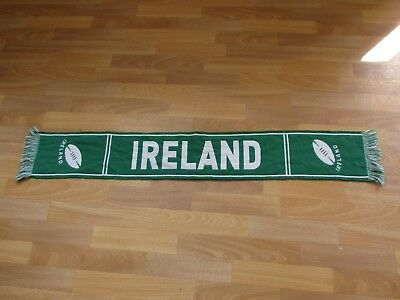 Mainly Green IRELAND Rugby Union Scarf