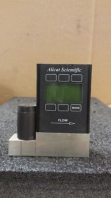 Alicat Scientific Mass Flow Controllers MC-100SCCM-D/5M 5IN GAS Hydrogen