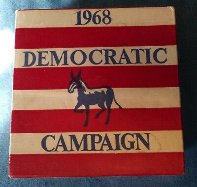 1968 Muskie for Vice President Democratic Campaign Wheaton 1st Edition bottle