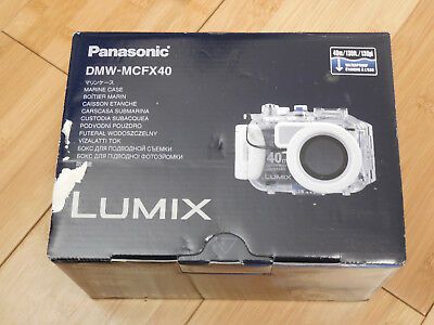 Panasonic Lumix Marine Camera Case DMW-MCFX40 FOR DMC-FX48 DMC-FX48S