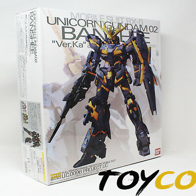 Gundam MG 1/100 Unicorn 02 Banshee (Ver. Ka) Model Kit Bandai Japan Figure