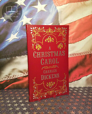 NEW A Christmas Carol Charles Dickens Bonded Leather Pocket Softcover Ed
