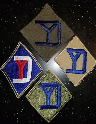 WWII US Army 26th Infantry Division Patch Lot Priced to Sell