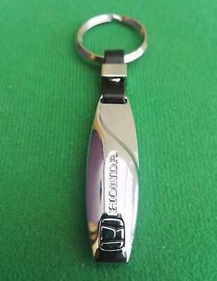 HONDA 24ct GOLD PLATED KEYRING ACCORD CIVIC INTEGRA CR-V HR-V JAZZ INSIGHT S2000
