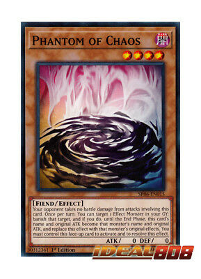 YUGIOH x 3 Phantom of Chaos - SR06-EN015 - Common - 1st Edition Near Mint