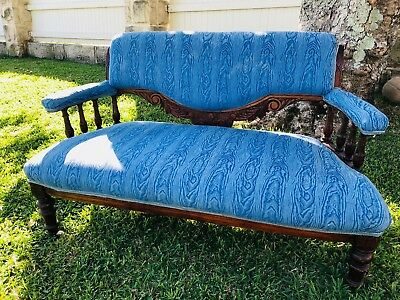 Antique two/three seat chair