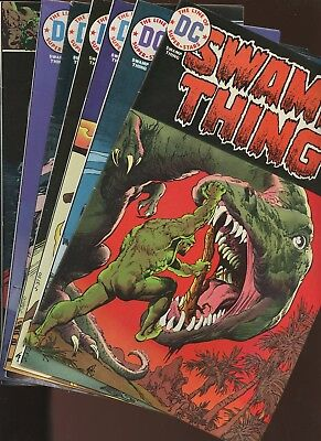 Swamp Thing 12,13,14,15,16,17,18* 7 Books * Village of the Doomed! Mr.E Dies!