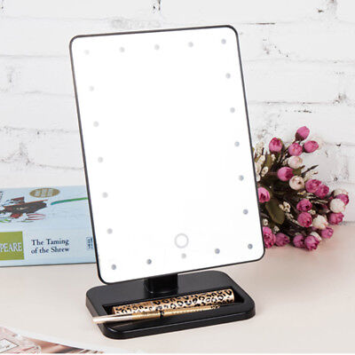 20 LED Make up Mirror Schminkspiegel Kosmetikspiegel Beleuchtet Mirrors DE