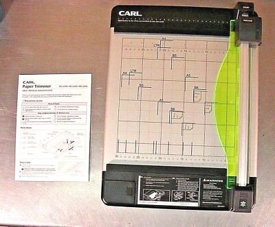 "Carl DC-210N (12"") Heavy Duty Rotary Paper Trimmer (A4)- New"