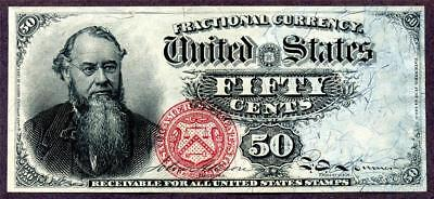 HGR FRIDAY 1866 .50c 4th Issue ((Stanton)) Appears GEM UNCIRCULATED
