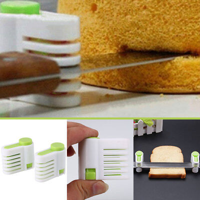 5-Layers Kitchen DIY Cake Bread Cutter Leveler Slicer Cutting Sheet Tools