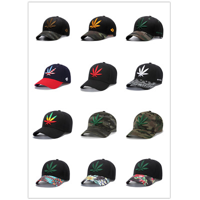 Mens Womens Camouflage Baseball Caps Hip Hop Snapback Hats Embroidery Adjustable