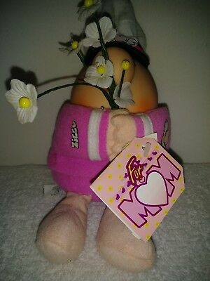 ZIGGY Plush Toy MOTHERS DAY 1994 Tom Wilson American Greetings Pink with Tags