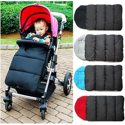 New Baby Carriages Strollers Mat Infant Sleeping Bag Windproof Foot Cover Warm