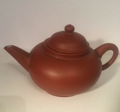 Old Chinese ?? Teapot With Mark On Base