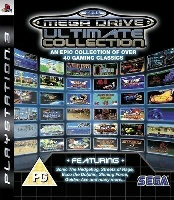PS3 game - SEGA Mega Drive: Ultimate Collection EN/GER CD with manual