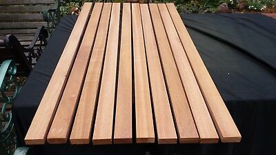 Awesome Timber Garden Bench Slats 10 Pieces 50 Mm By 20Mm 4Ftlong Machost Co Dining Chair Design Ideas Machostcouk