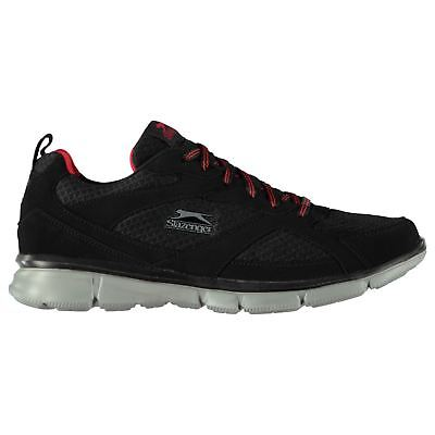 Slazenger Zeal Sneakers Mens Gents Runners Laces Fastened Ventilated Lightweight