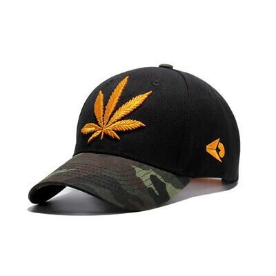 Womens Mens Camouflage Baseball Caps Hip Hop Snapback Hats Embroidery Adjustable