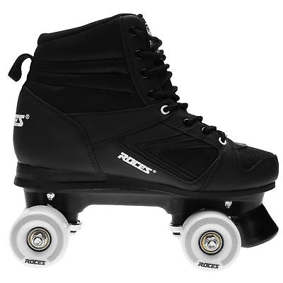 Roces Kolossal Quad Skates Mens Gents Laces Fastened Padded Ankle Collar Front