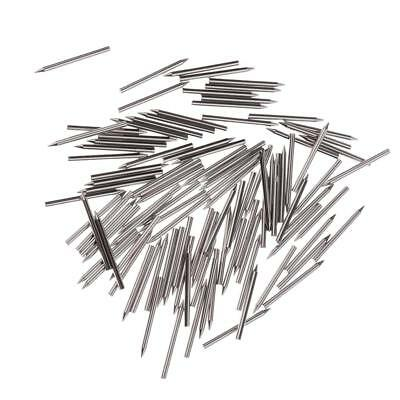 One Set 1.2mm Dia Nickel Plated Piano Center Pins Piano Action Repair Parts