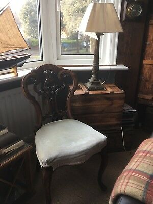 Victorian Carved Ladies Chairs