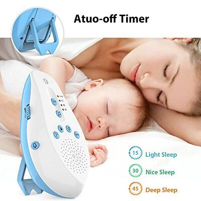 White Noise Generator Sound Machine Relax Therapy Sleeping Aid Timer Shut-Off