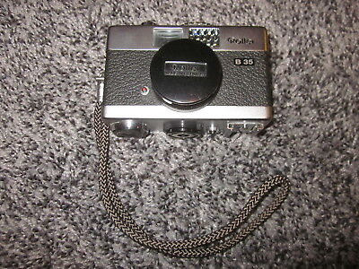 VINTAGE ROLLEI B 35 FILM CAMERA w/TRIOTAR 3.5 / 40 CARL ZEISS LENS **CLEAN**