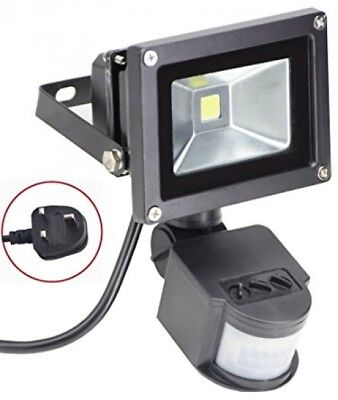 10W Led Motion Sensor Flood Light Outdoor Waterproof PIR Sensitive Floodlight