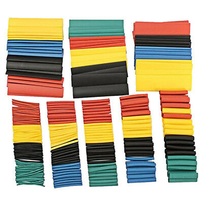 328PCS Waterproof Heat Shrink Tubing Wire Cable Wrap Electrical Insulation Tube