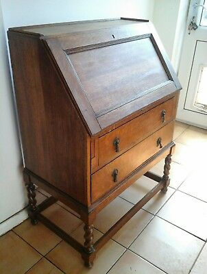 Antique Wooden Writing Bureau