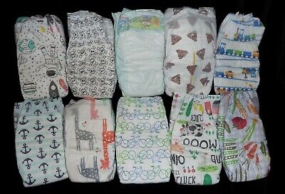 Welcome Baby assorted boy diapers for reborn,baby doll, baby shower decoration