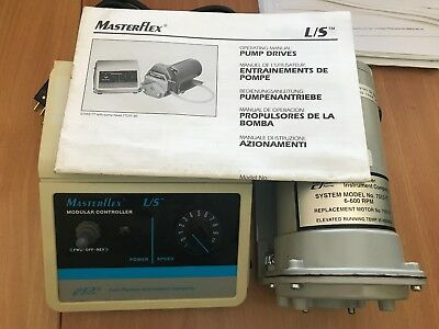 Cole Parmer Masterflex Motor And Modular Controller