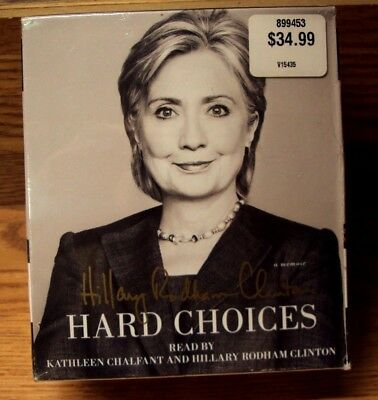 HARD CHOICES ~ Hillary Rodham Clinton ~ (2014, CD, Unabridged) ~ NEW / SEALED!