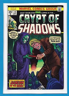 "Crypt Of Shadows #10_May 1974_Vf_""a Scream In The Dark""_Bronze Age Horror!"