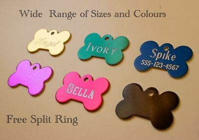 Pet Id Tag Engraved Personalised Deep Engraving Dog,Cat,Kittens tags
