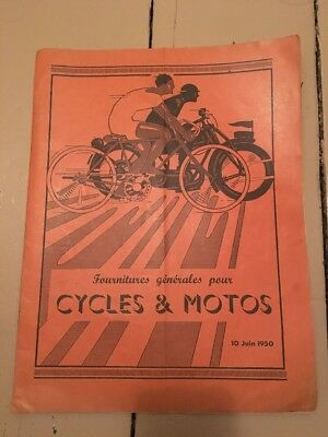 Vintage Bicycle Magazine Catalogue French Favor 1950 Clermont Ferrand