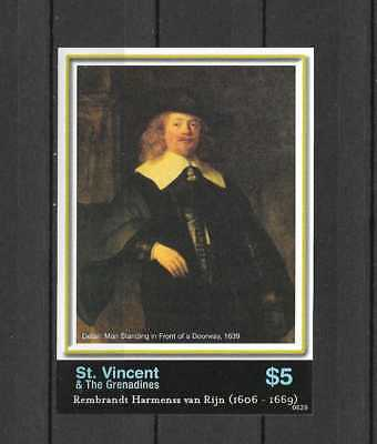St Vincent & the Grenadines # 3554 Mint Never Hinged Mini Sheet
